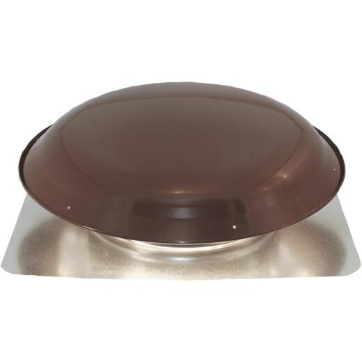"Ventamatic Cool Attic 15"" Galvanized Steel Brown Static Roof Mount Attic Vent"