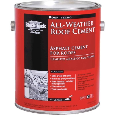 Black Jack 1 Gal. All-Weather Roof Cement