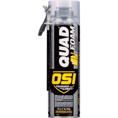 OSI Quad Foam 16 Oz. Dual Window & Door Foam Sealant