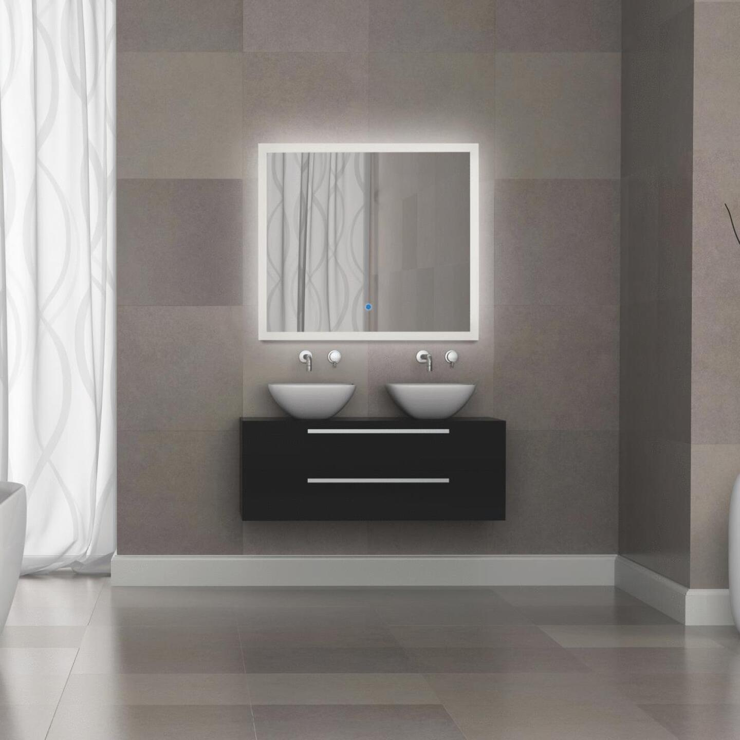 Renin Landscape 32 In. W. x 36 In. H. Polished Edge Backlit Wall Mirror Image 2