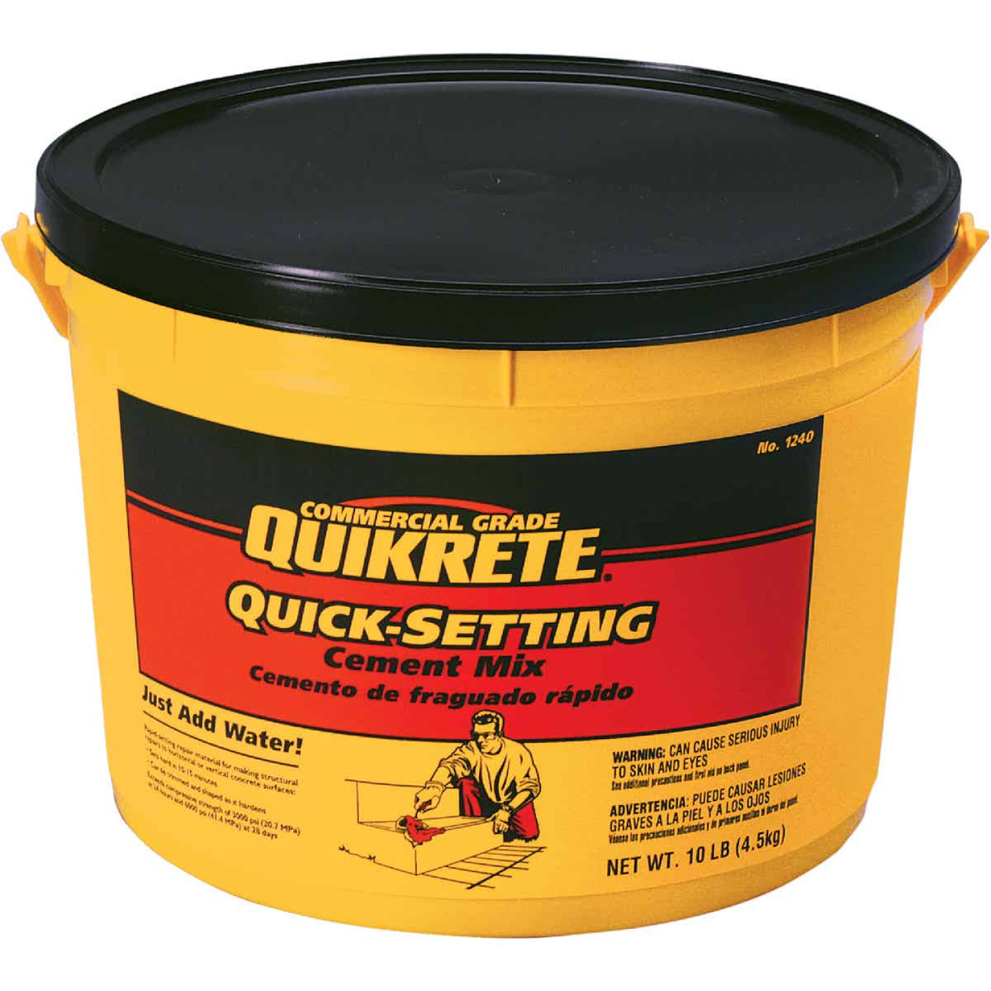 Quikrete Commercial Grade Quick Setting Cement Image 1