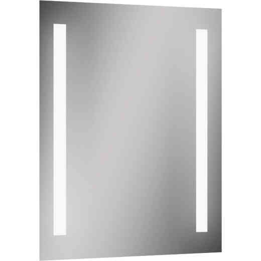 Lighted Impressions Maxx Frameless 20 In. W x 27-3/4 In. H Vanity Mirror with Two LED Light Strips