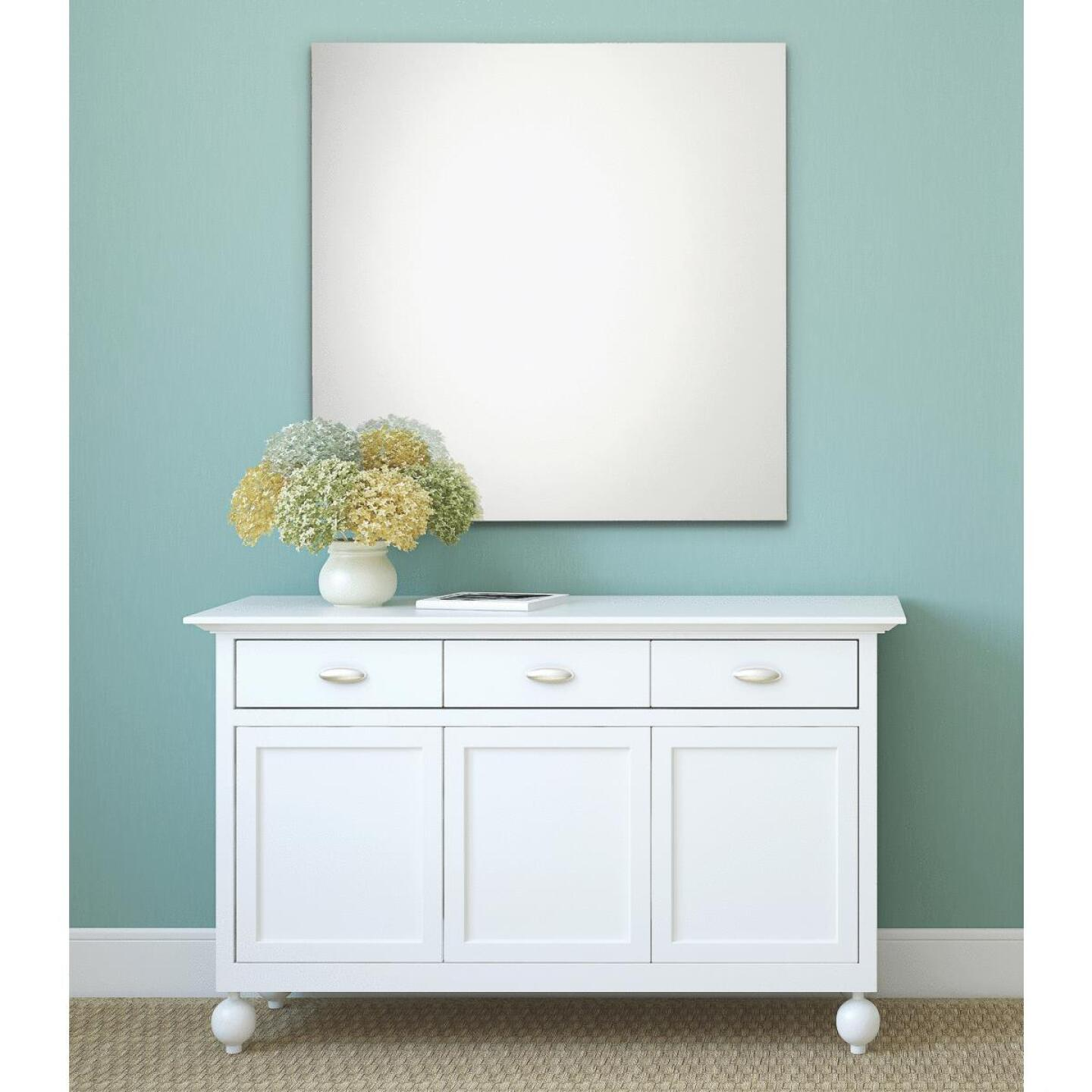 Erias Home Design 36 In. W. x 48 In. H. Frameless Polished Edge Wall Mirror Image 1