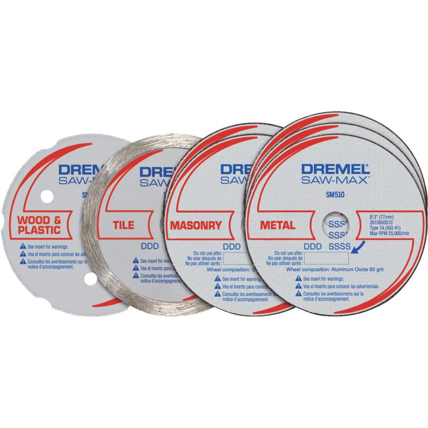 Dremel Cut-Off Wheel Set, 7-Pieces Image 1