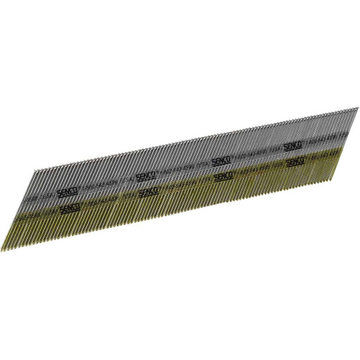 Senco 15-Gauge Bright 34 Degree Angled Finish Nail, 2-1/4 In. (4000 Ct.)
