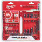 Milwaukee Shockwave 40-Piece Impact Duty Drill and Drive Set Image 1