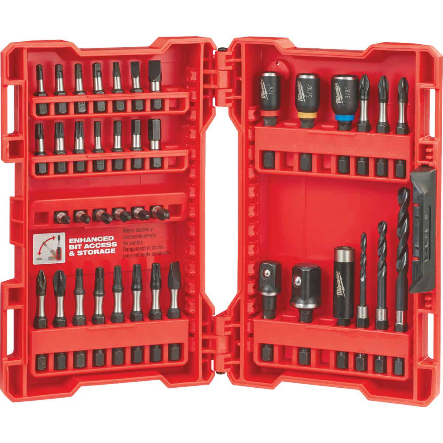 Milwaukee Shockwave 40-Piece Impact Duty Drill and Drive Set Image 2