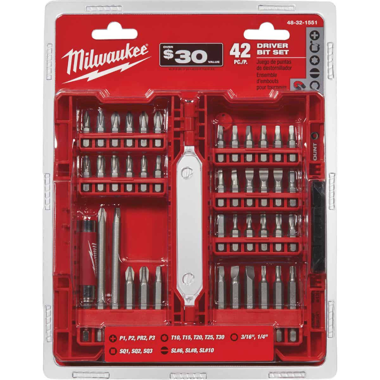 Milwaukee Shockwave 42-Piece Drill and Drive Set Image 2