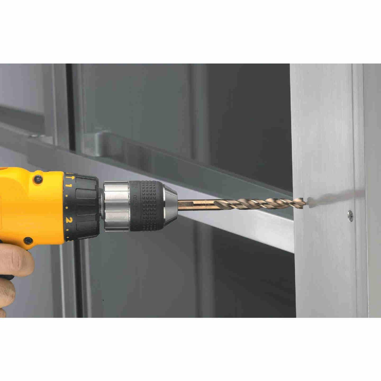 DeWalt 1/4 In. Gold Ferrous Oxide Pilot Point Drill Bit Image 2