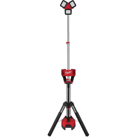Milwaukee M18 ROCKET 18 Volt Lithium-Ion LED Tower Corded/Cordless Work Light/Charger (Bare Tool)
