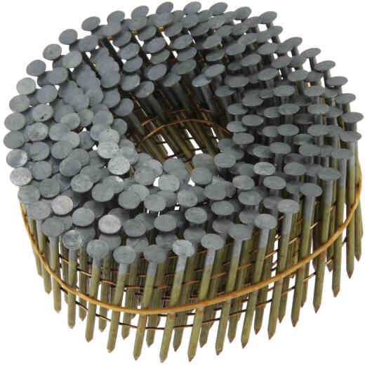Grip-Rite 15 Degree Wire Weld Bright Coil Framing Nail, 3-1/4 In. x .120 In. (2500 Ct.)