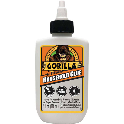Gorilla 4 Oz. White Household All-Purpose Glue