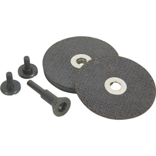 Weiler Vortec Cut-Off Wheel Set, 6-Pieces