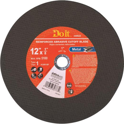 Do it Type 1 12 In. x 1/8 In. x 1 In. Metal Cut-Off Wheel