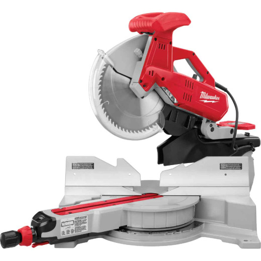 Milwaukee 12 In. 15-Amp Dual-Bevel Sliding Compound Miter Saw