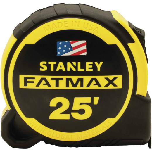 Stanley FatMax 25 Ft. Tape Measure with 13 Ft. Standout