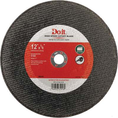 Do it Type 1 12 In. x 1/8 In. x 1 In. Masonry Cut-Off Wheel