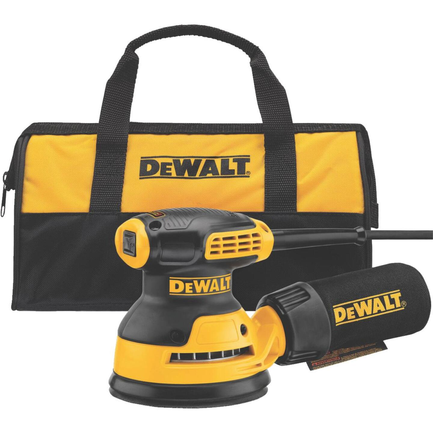 DeWalt 5 In. 3.0A Finish Sander Image 2
