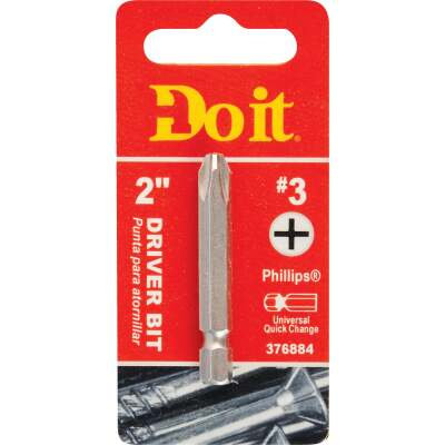 Do it #3 Phillips 2 In. Power Screwdriver Bit