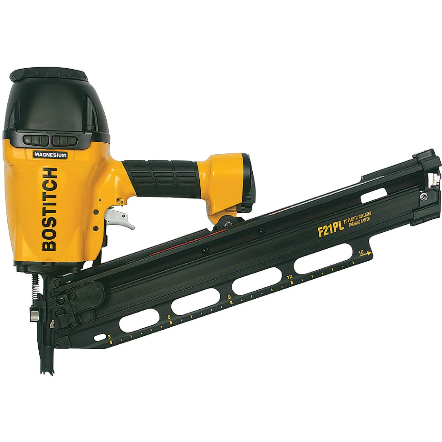 Bostitch 21 Degree 3-1/2 In. Plastic Collated Framing Nailer Image 1