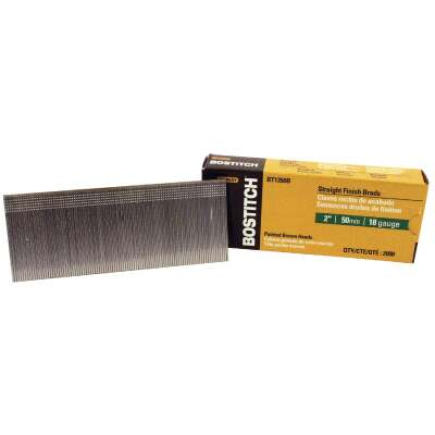 Bostitch 18-Gauge Coated Brad Nail, 2 In. (2000 Ct.)