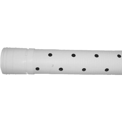 Advanced Basement 3 In. X 10 Ft. HDPE Perforated Sewage & Drainage Pipe