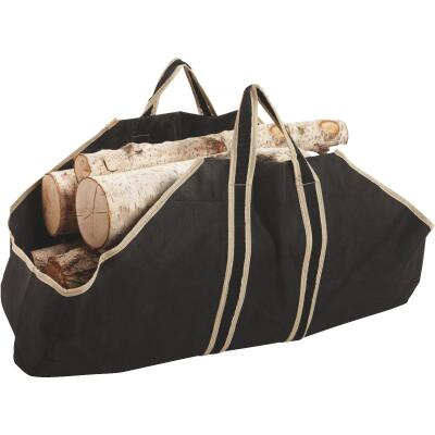 Home Impressions 35-1/2 In. W x 22 In. H Canvas Log Carrier