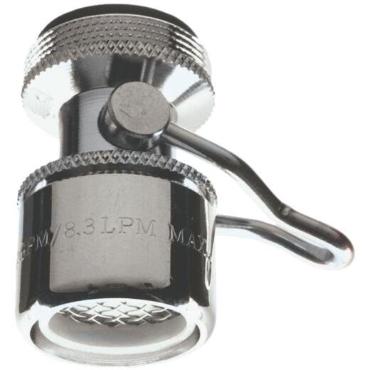 Do it 1.5 GPM Dual Thread Faucet Aerator with On/Off Switch