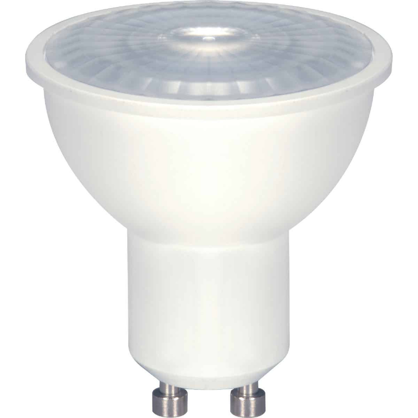 Satco 50W Equivalent Warm White MR16 GU10 Dimmable LED Floodlight Light Bulb Image 1