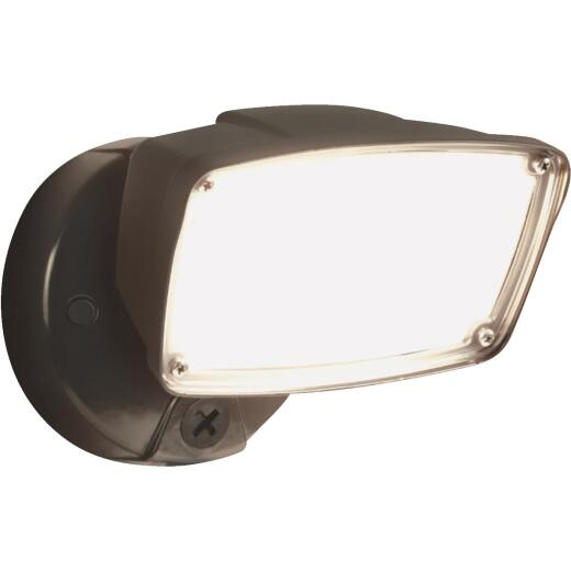 Halo Bronze LED Large Single Head Floodlight Fixture