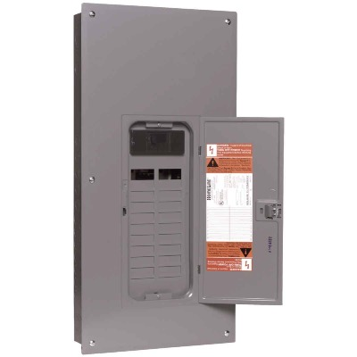 Square D Homeline 200A 20-Space 40-Circuit Indoor Main Breaker Plug-on Neutral Load Center