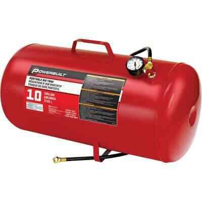 Powerbuilt 10 Gallon Portable Shop Air Tank