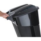 United Solutions Rough and Rugged 32 Gal. Wheeled Trash Can with Attached Lid Image 3