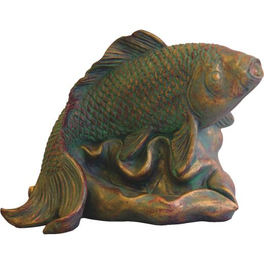 PondMaster 3.6 In. W. x 5.6 In. H. x 9 In. L. Resin Fountain Fish Spitter