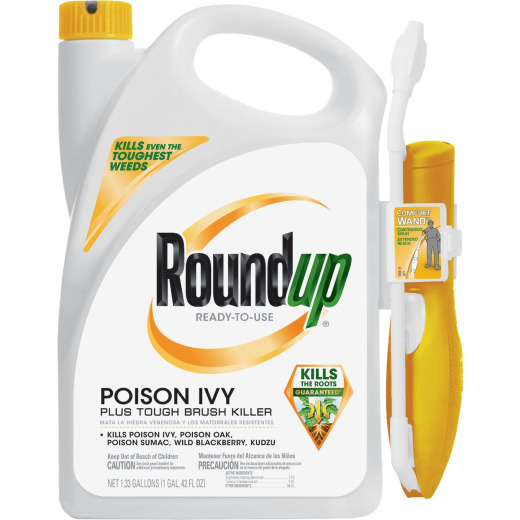 Roundup 1.33 Gal. Ready-To-Use Poison Oak & Ivy Killer with Comfort Wand