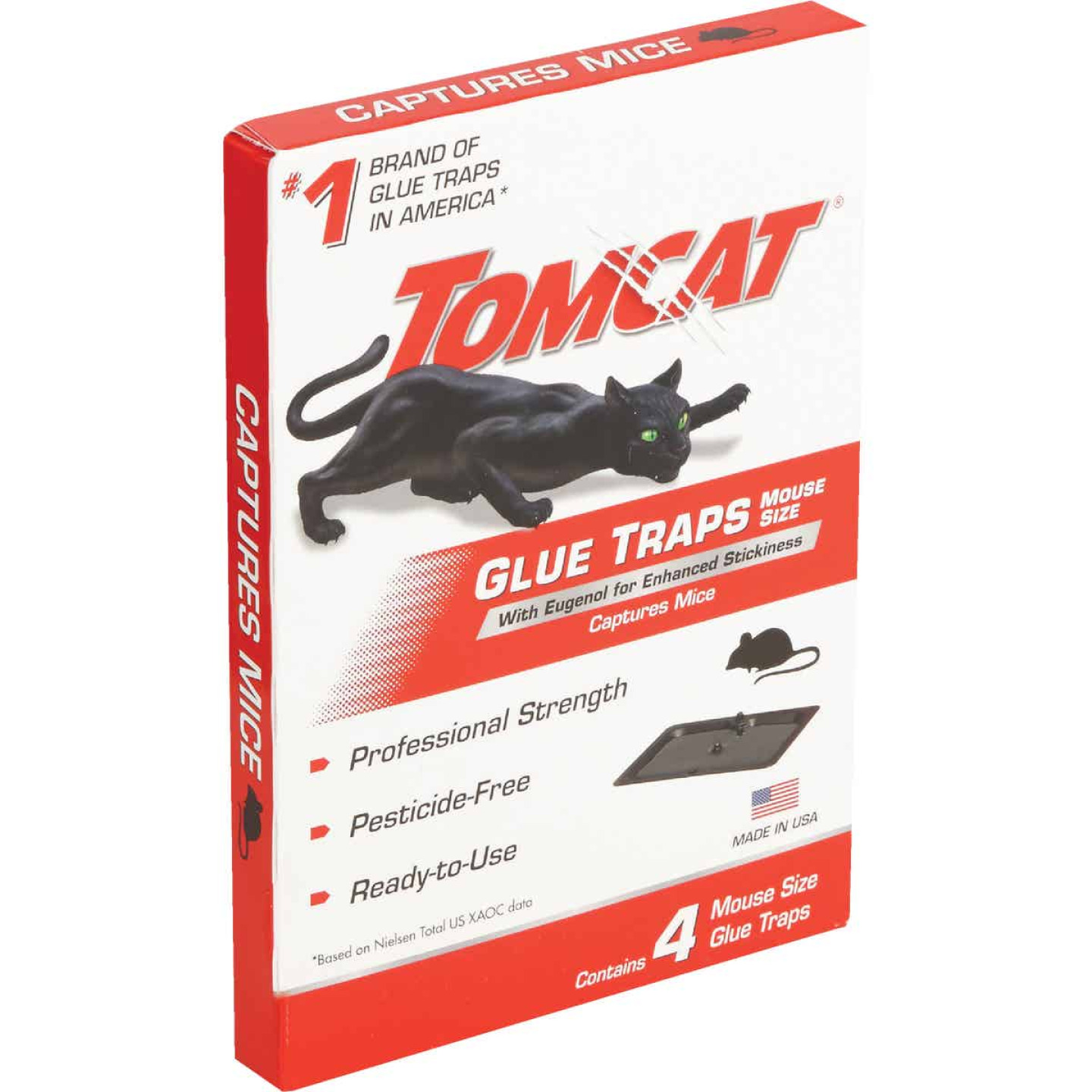 Tomcat Glue Mouse Trap (4-Pack) Image 2