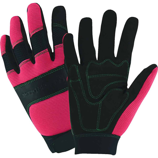West Chester John Deere Women's Large Synthetic Leather Winter Work Glove