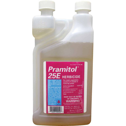 Control Solutions Pramitol 25E 1 Qt. Concentrate Herbicide Vegetation Killer