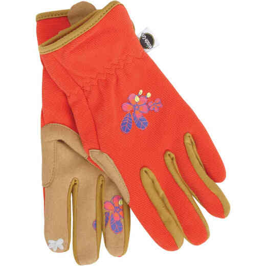 Miracle-Gro Women's Small/Medium Synthetic Leather Garden Glove