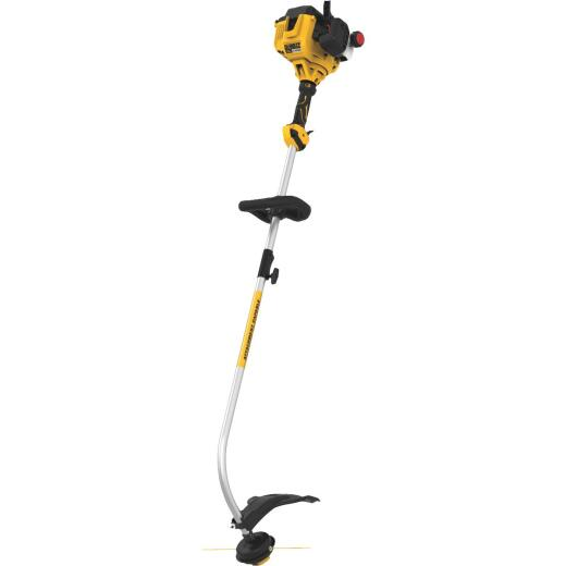 DeWalt Trimmer Plus 17 In. 27cc 2-Cycle Curve Shaft Gas String Trimmer