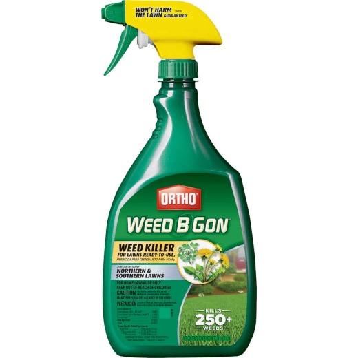 Ortho Weed-B-Gon 24 Oz. Ready To Use Trigger Spray Weed Killer For Lawns