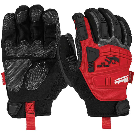 Milwaukee Men's Medium Synthetic Leather Impact Demolition Glove
