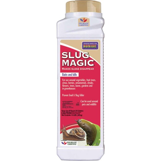 Bonide Slug Magic 1-1/2 Lb. Ready To Use Pellets Slug & Snail Killer