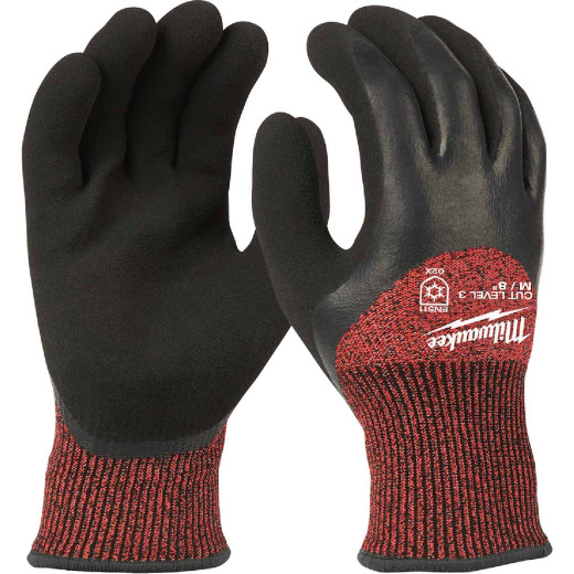 Milwaukee Men's Medium Latex Coated Cut Level 3 Insulated Work Glove
