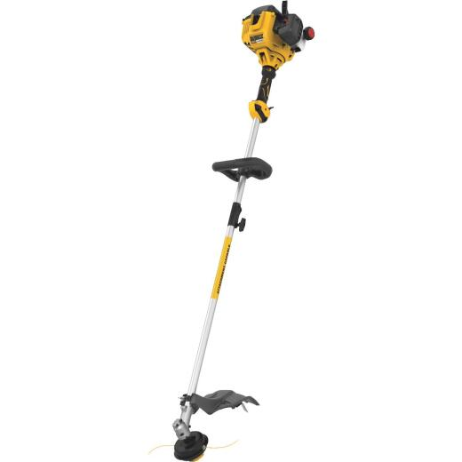 DeWalt Trimmer Plus 17 In. 27cc 2-Cycle Straight Shaft Gas String Trimmer