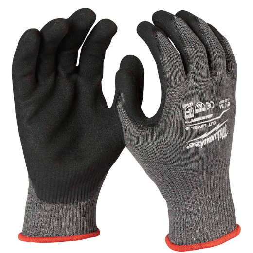 Milwaukee Men's Medium Nitrile Coated Cut Level 5 Work Glove