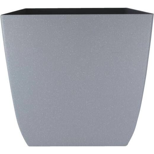 Myers Santa Fe 12 In. Pebble Gray Square Planter