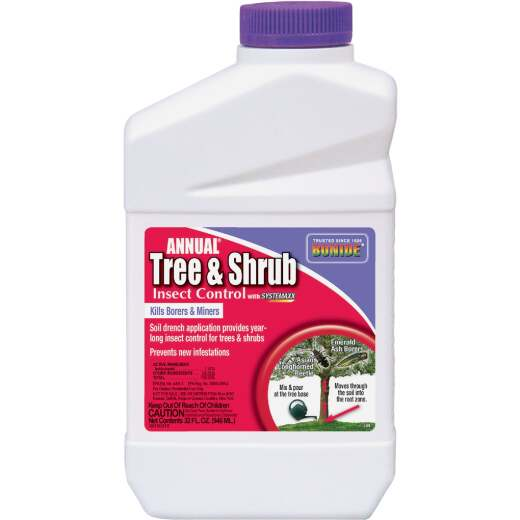 Bonide 32 Oz. Concentrate Tree & Shrub Insect Killer