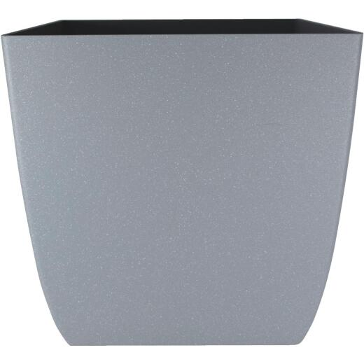 Myers Santa Fe 16 In. Pebble Gray Square Planter