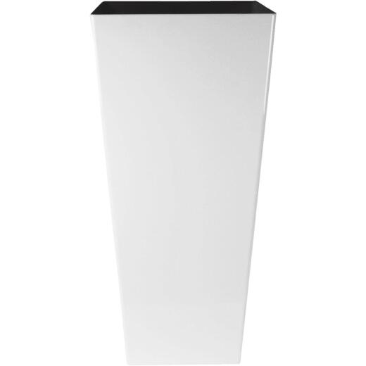Myers Cascade 12 In. Glossy White Square Planter
